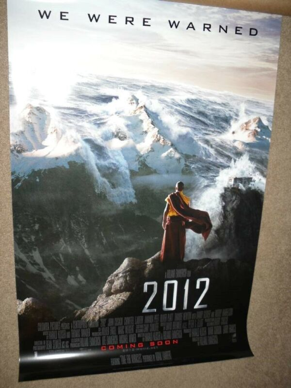 "2012 ""B"" 27x40 ORIGINAL D/S MOVIE POSTER"