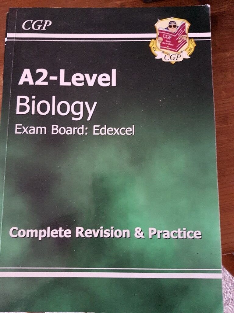 Various AS & A2 Level Revision Books Biology, Geography, Sociology used  condition