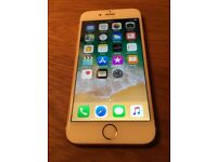 iPhone 6s 16gb on o2.Hardly any marks (camera+fingerprint not working) £160 no offers.can deliver