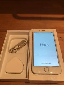 iPhone 6 Silver 16gb boxed EE