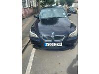 Car for sale 525d M sport 08 BMW