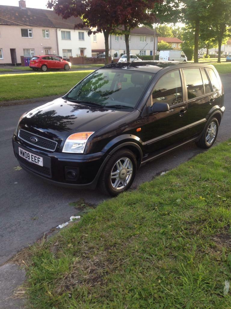 ford fusion zetec fiesta 08 black in west derby merseyside gumtree. Black Bedroom Furniture Sets. Home Design Ideas