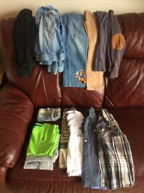 Boys clothes bundle, aged 5-6