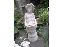 Garden statue solid stone perfect condition