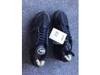 Brand new black Adidas clima cool trainers size 9
