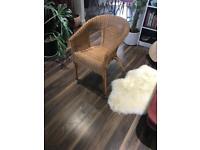 Wicker chair IKEA