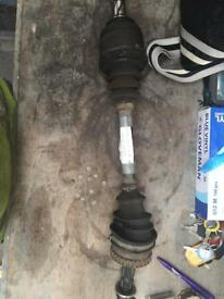 Corsa near side drive shaft