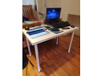 #RESERVED# - FREE white IKEA desk table + IKEA Office Chair