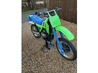 1983 Kawasaki KX 250 Evo, not RM, CR, YZ, twin shock etc