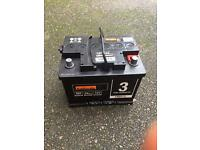 Halfords HB013 car battery. Brand new