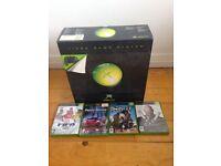 Microsoft Xbox Original With Games Mint BNIB