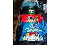 Boys tea shirts age from10/12