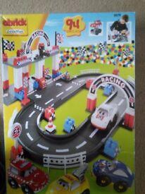 Boy car racing set 94 pieces