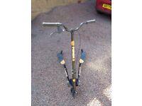 Yvolution Fliker F3 Swing Scooter. Lanark.
