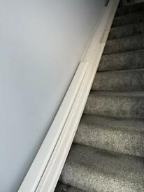 Skirtings and facings white mdf ogee