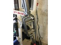 Used Olympic Tricep Bar - Weights Gym
