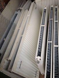 Double-Panel Single Convector Radiator 600 x 1400mm White