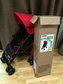 fisher price from 6 months pushchair with footmuff