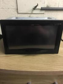 JVC double din In car entertainment system