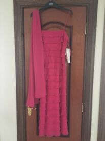 Gina Bacconi midi dress size 12. Brand new with tags on.