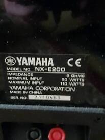 Yamaha av Amp & speakers