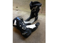 ALPINESTARS SMX 6 Motorcycle Motorbike Bike boots UK 6 EU 39