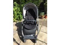 Oyster 2 pushchair, carrycot & extras - £215