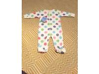 Footed babygrow/playsuit, Frugi, 3-6 months, NEW WITH TAGS