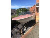 Speedboat (Broom) Project C/W Trailer, SOLD