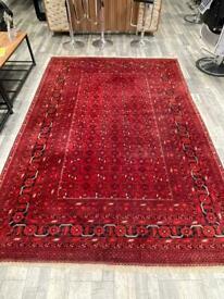 Persian rug handmade afghan