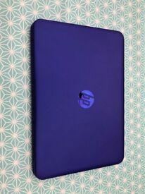 HP Stream Notebook in Purple.
