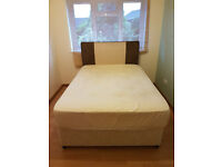 Double Divan Bed - Great condition
