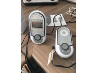 Motorola MBP16 digital audio baby monitor