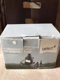Hurricane compact 12v electric pump