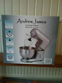 BRAND NEW Food Stand Mixer in box. By Andrew James. BNIB