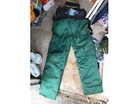 Pro Mac Chainsaw Trousers plus more
