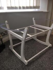 Mothercare Rocking Moses Basket Stand
