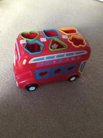 Toy bus from early learning centre