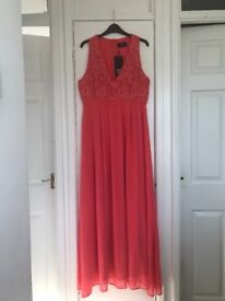 Brand new with tags women's full length evening dress