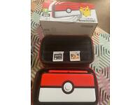 Nintendo 2DS xl Pokemon Pokeball edition. With Rare Pokemon Gold Game downloaded.