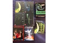 ALIEN quad trilogy + predators, avp2