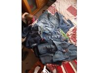 10 pairs of jeans ladies size 10/12