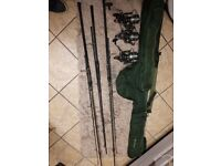 Nash scope rods carp fishing