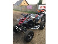 Yamaha RAPTOR 660r ROAD legal xmas toy **SWAPS OFFERS want a 250 crosser !!