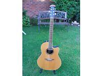 Ovation Balladeer Model No. 2771AX-4 OP - PRO SERIES Acoustic - Electric Guitar
