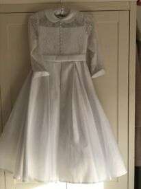 BNWT Communion Dress age 9