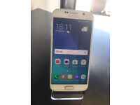 SAMSUNG S6 32GB AS NEW CONDTION UNLOCKED WITH RECEIPT AND WARRANTY