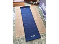 Self inflating camping mattress