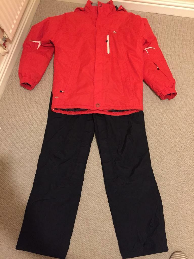 798f37d0a Red & Black Ski Salopettes & Jacket Size M | in Maesteg, Bridgend | Gumtree