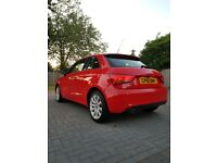 2012 Audi A1 Sport 1.6 TDI Sportback 3Dr in Red Edition Free Road Tax,FRESH MOT,LoW M